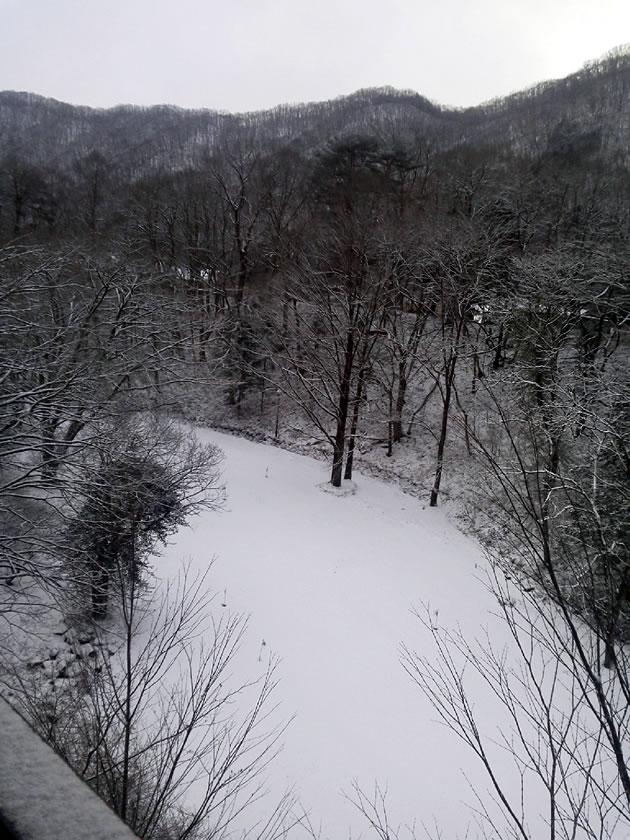 雪の湯西川温泉1