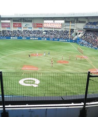オープン戦 3/12 読売ジャイアンツ戦